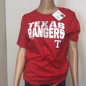 Texas Rangers MLB Shirt Size Youth Large (14/16)